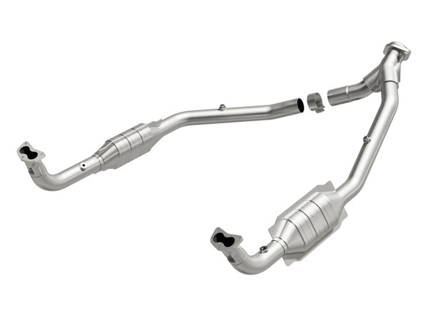 MagnaFlow Land Rover Standard Grade Federal / EPA Compliant Direct-Fit Catalytic Converter
