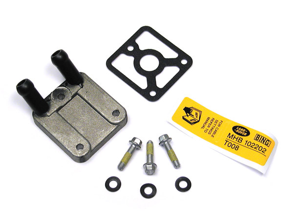 Land Rover heater plate kit