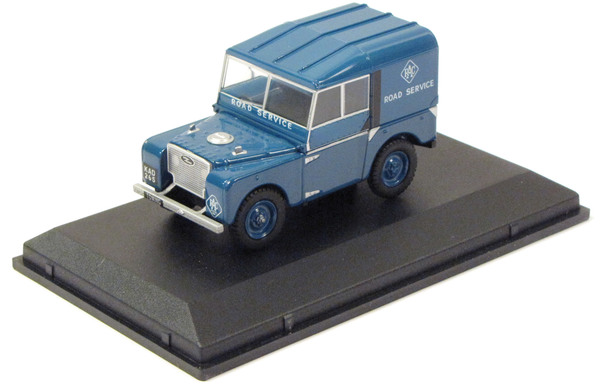 Diecast Collectible Toy Truck, Land Rover Series 1 Royal Auto Club, 1:43 Scale