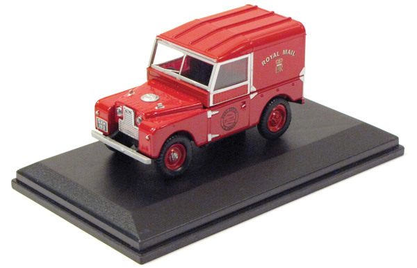 Diecast Collectible Toy Truck, Land Rover Series 1 Royal Mail 1:43 Scale