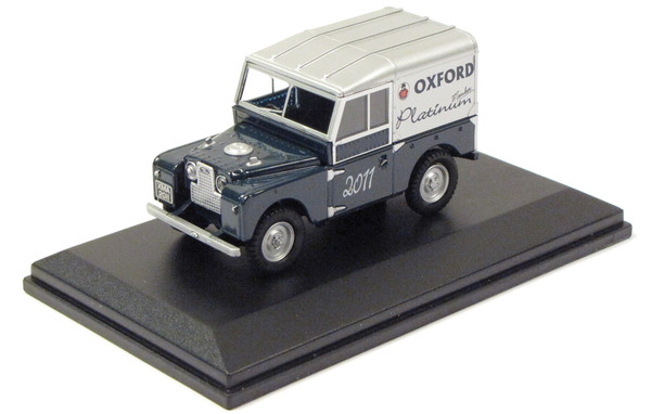 Diecast Collectible Toy Truck, Land Rover Series 1 Oxford Platinum 1:43 Scale