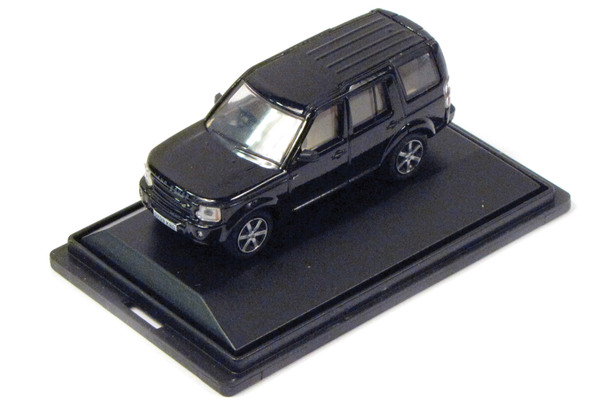 Diecast Collectible Toy Truck, Land Rover LR3 Santorini Black 1:76 Scale