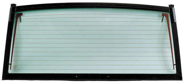 Upper Tailgate Assembly MWC2192 With Glass And Defroster Strips For Range Rover Classic, 1987 - 1989