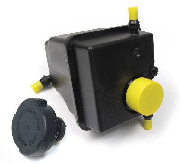 Radiator Expansion Tank With Cap For Range Rover Full Size L322, 2003 - 2005