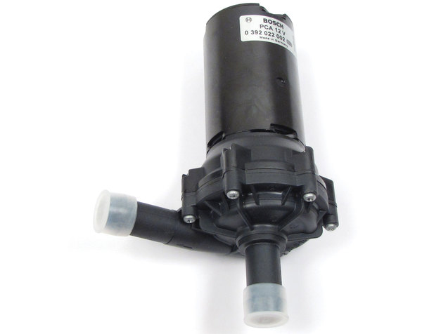 Auxiliary Intercooler Water Pump PEB500010 By BOSCH For Land Rover LR4 And Range Rover Sport Supercharged (See Fitment Years)