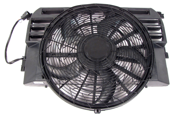 Radiator Coolant Fan Assembly PGK000150 By BEHR For Range Rover Full Size L322, 2003 - 2005