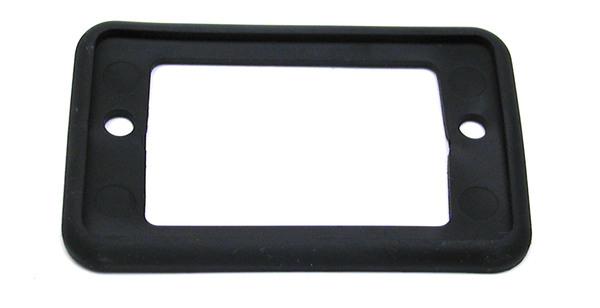 Gasket License Plate Lamp