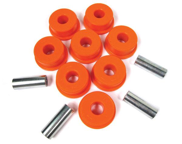 Orange Polybush  Front Radius Arm To Axle Rear Pair 1