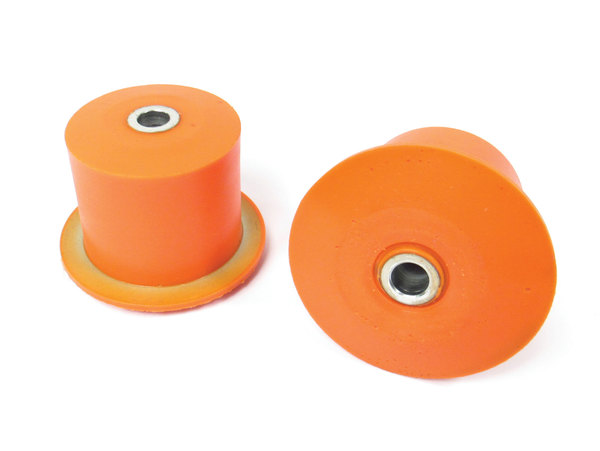 Polyurethane Bushing By Polybush, Front Of Rear Upper Control Arm Pair (Orange / Standard Firmness), For Land Rover LR3 And LR4