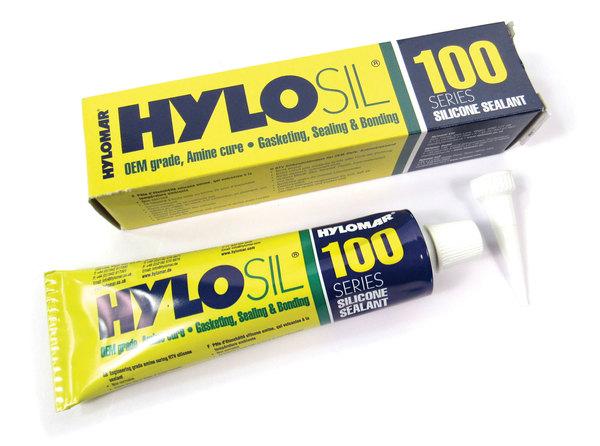Hylomar Hylosil 100 Series Silicone Sealant, Amine Cure, 3 Ounce Tube