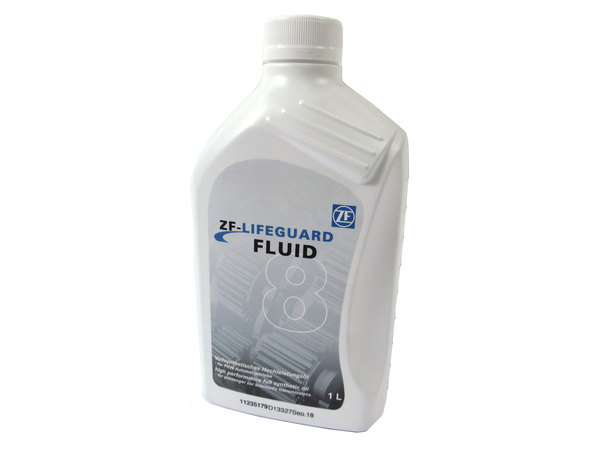 Automatic Transmission Fluid, 1 Liter, Original Equipment ZF Lifeguard FLUID8 For 8 Speed Automatics, Land Rovers, Range Rovers And Jaguars (See Fitment Years)