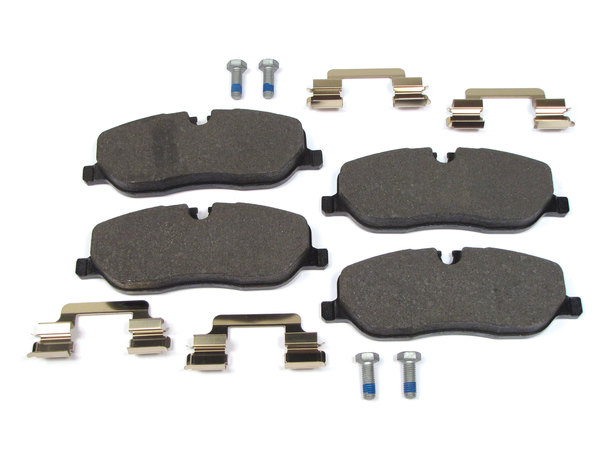 brake pads, pins, clips