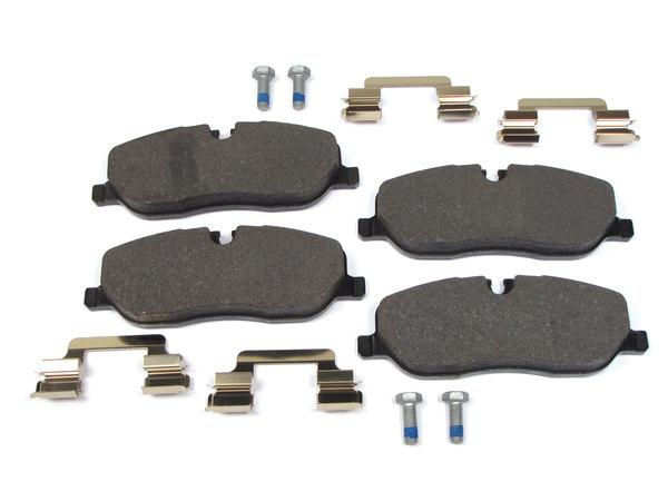 brake pads, pins, clips