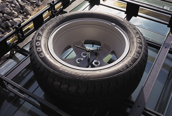 Safari Roof Rack Spare Tire Carrier And Mount By Surco
