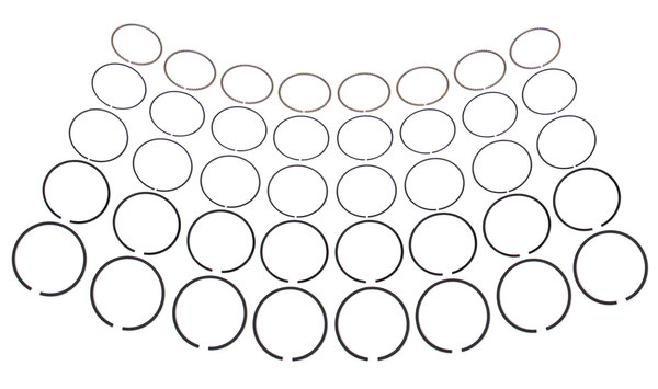 Piston Rings, Set Of 8 For 4.0 And 4.6 Liter Engines On Land Rover Discovery 1, Discovery Series 2, Range Rover P38 And Defender 90 1997
