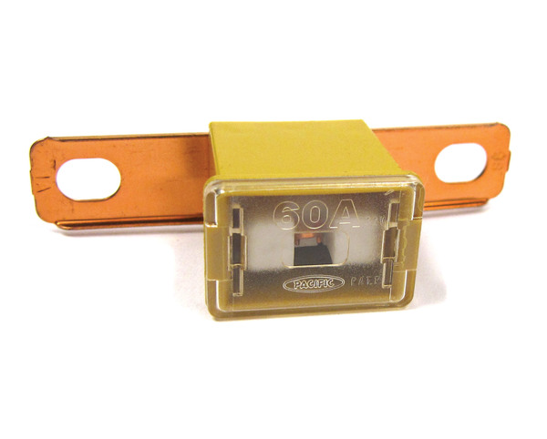 Genuine Fusible Link STC1758, 60 Amp, Yellow, For Land Rover Discovery I And Range Rover Classic (See Fitment Years)
