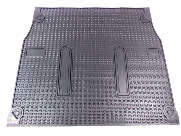 Cargo Liner Loadspace Mat, Black Rubber, Half Size Length, For Land Rover Discovery Series 2