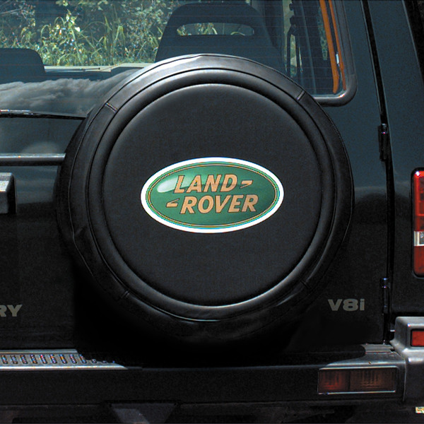Genuine Spare Tire Cover STC50069AA With Land Rover Logo In Green For Discovery Series II