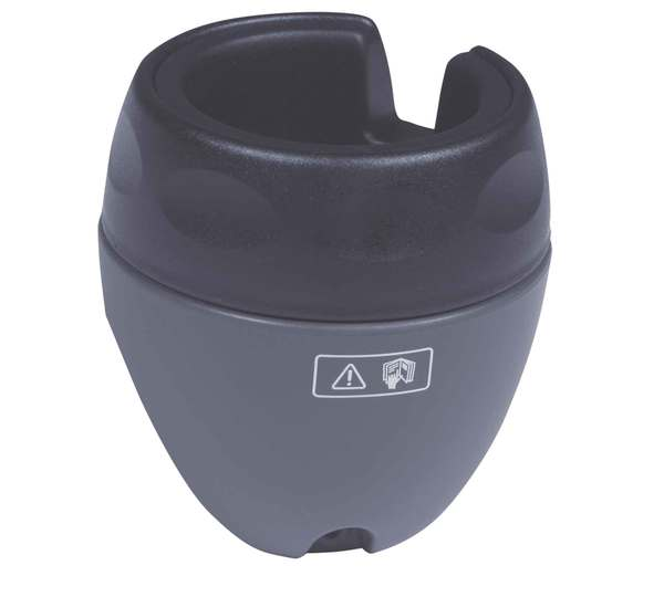 Genuine Cup Holders, Gray Pair, For Land Rover Discovery 1, Discovery Series 2 And Range Rover Classic 1995-Only