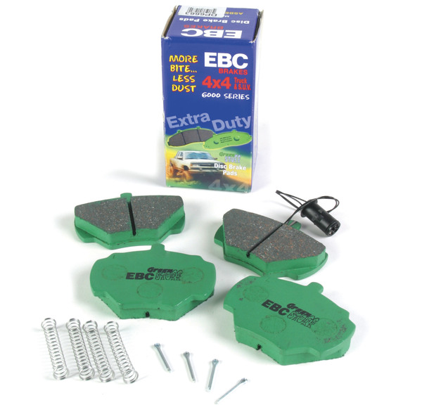 EBC Greenstuff Performance Rear Brake Pads For Land Rover Discovery I And Defender 90