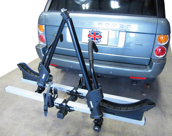 Thule T2 Bike Rack: 2-Bike Hitch Mount Platform Carrier For 2 Inch Receiver