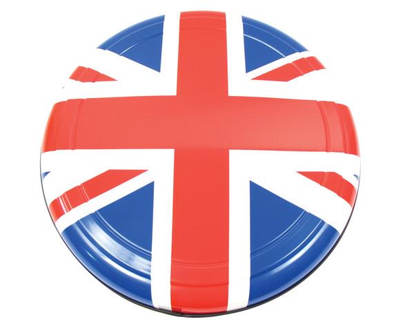 Boomerang Rigid Wheel Cover For Spare Tire (Color Union Jack Design)