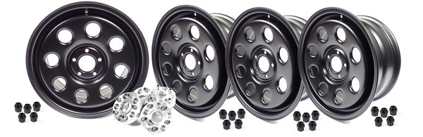 Wheels 18 X 8 Steel Terrafirma-Set Of 4 W/Spacers