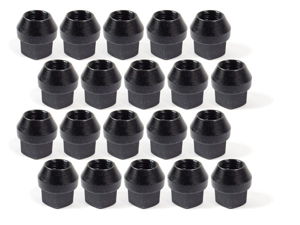 Terrafirma Wheel Lug Nuts, Black, Set Of 20, For 18 X 8 Terrafirma Steel Wheels TF152