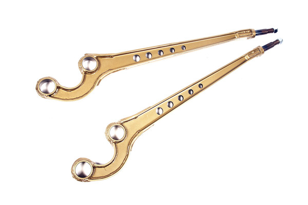 Terrafirma Caster Corrected Front Radius Arms, Pair, For Land Rover Discovery I, Defender 90, And Range Rover Classic (See Fitment Yeras)