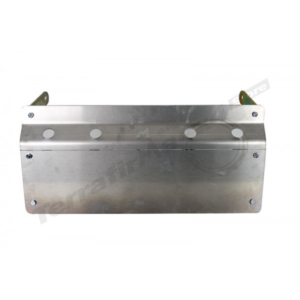 Alloy Steering Guard Skid Plate For Discovery Series II By Terrafirma (For Vehicles With Stock OEM Bumper)