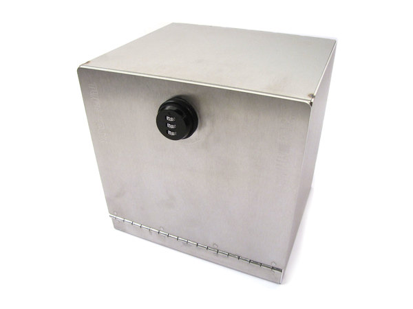 Stainless Steel Cubby Safe By Tuff-Rok For Land Rover Defender 90