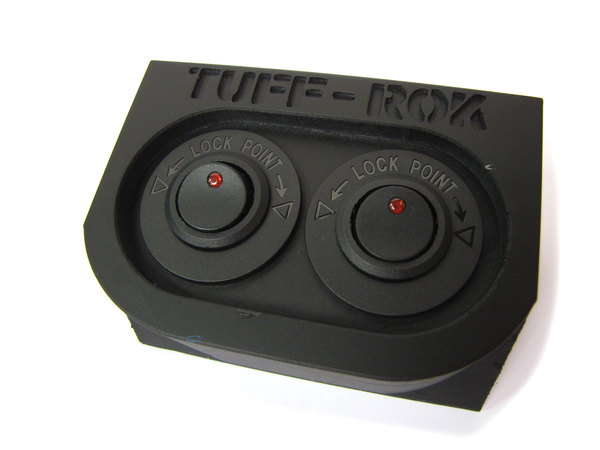 Tuff-Rok Front Power Panel For LR3 With Logo