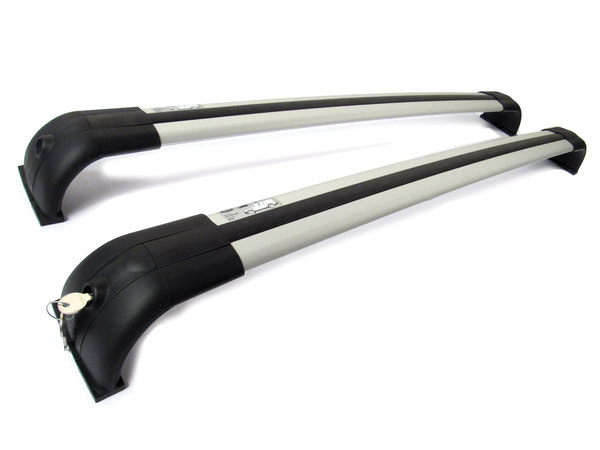 Genuine Roof Rack Crossbar Set For Land Rover LR3 And LR4, Requires Roof Rails For Installation