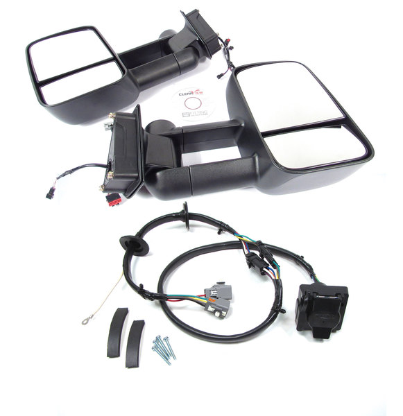 tow mirrors and trailer wiring kit for LR4