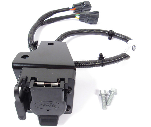 Land Rover Genuine Trailer Wiring Kit VPLGT0074 For Range Rover Full Size L405, 2013 - 2018, Includes Flat-4 And 7-Way Connectors