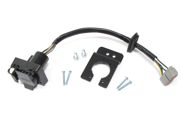 Trailer Wiring Kit VPLMT0008 By Atlantic British, Includes Flat-4 And 7-Way Connectors, For Range Rover Full Size L322, 2010-2012