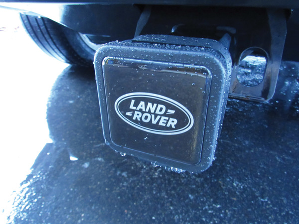 Genuine Trailer Hitch Cover With Land Rover Logo, Fits 2-Inch Receiver, VPLWY0084