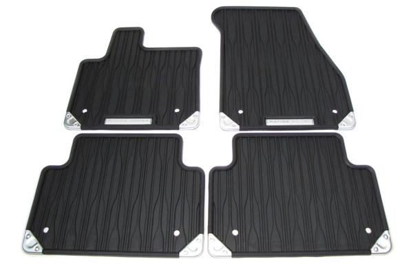 Floor Mat Set 4 Piece Rubber Lhd