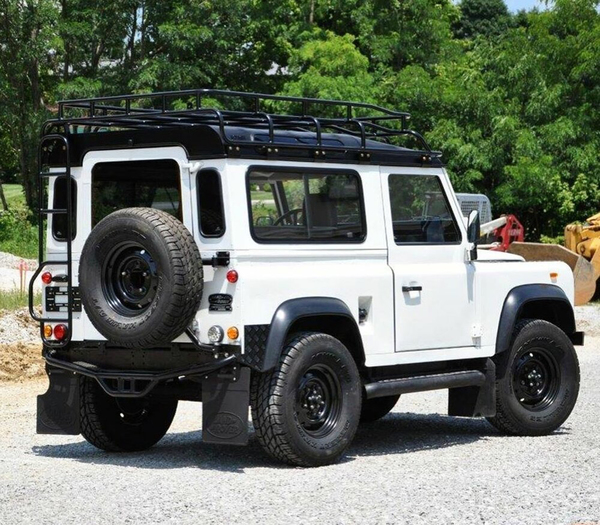 Overland Roof Rack, Standard Height, By Voyager Offroad, For Land Rover Defender 90 Rest Of World (Non North American Spec)