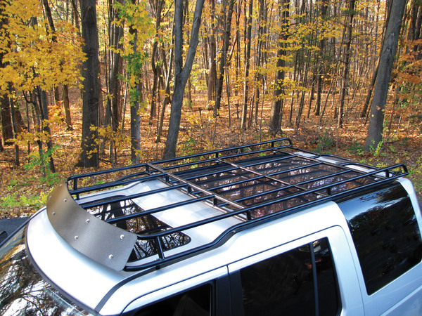Overland Roof Rack, Low Profile Height, By Voyager Offroad, For Land Rover LR3 And LR4