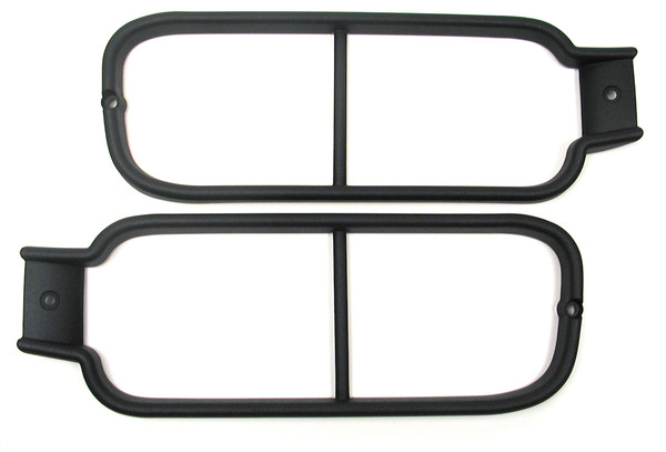 Genuine Lamp Guards, Rear Lower Pair, G4 Style, For Land Rover Discovery Series II, 2003 - 2004