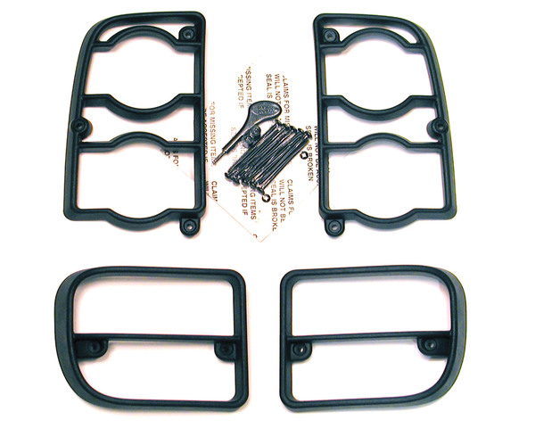 Lamp Guards Rear Set Of 4 2004 - 2005