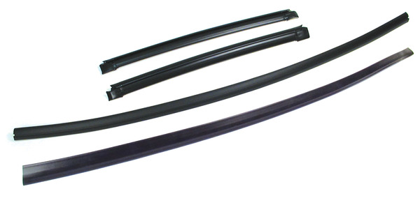 Windshield Finisher Kit, 4-Piece Set, For Land Rover Discovery I