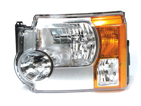 Genuine Halogen Headlight Assembly XBC500372, Left Hand, For Land Rover LR3