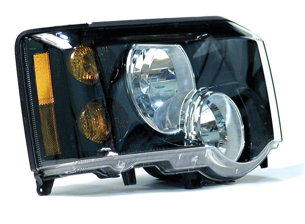 Genuine Headlight Or Headlamp Assembly XBC501460, Right Hand, For Land Rover Discovery Series II, 2003 - 2004