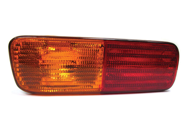 Tail Light Turn Signal Assembly And Fog Lamp XFB101490, Left Hand Driver's Side On Bumper, For Land Rover Discovery Series II, 1999 - 2002