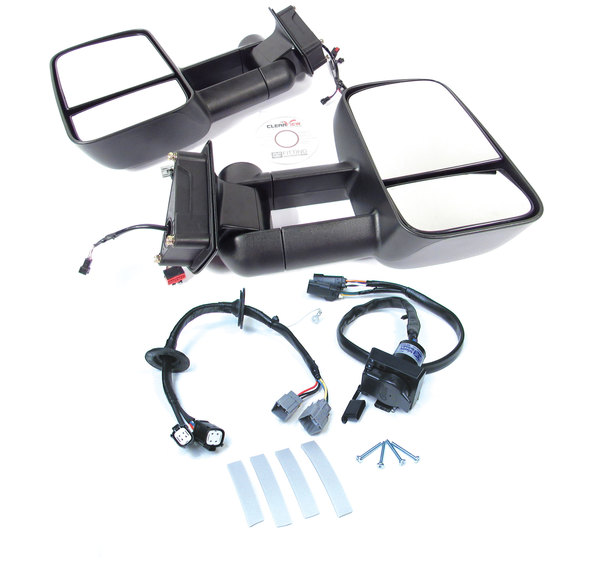 tow mirrors and trailer wiring kit for LR3