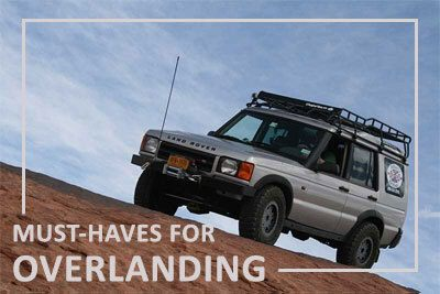 must-haves for overlanding
