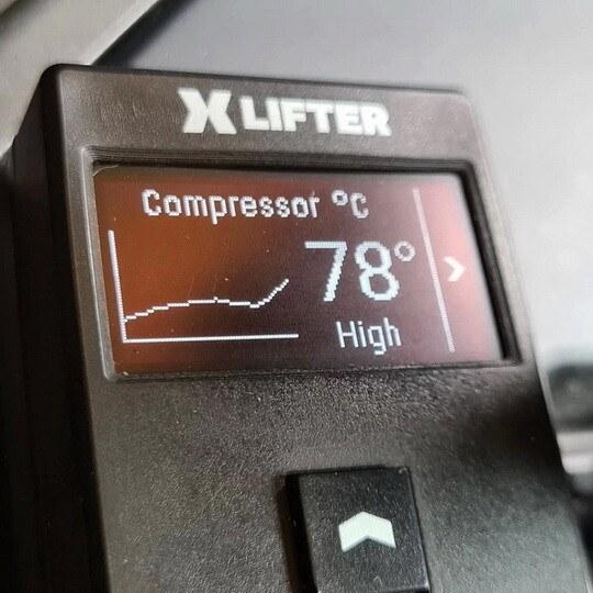 XLifter compressor chart