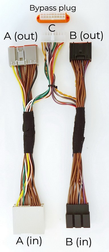 XLifter system wires